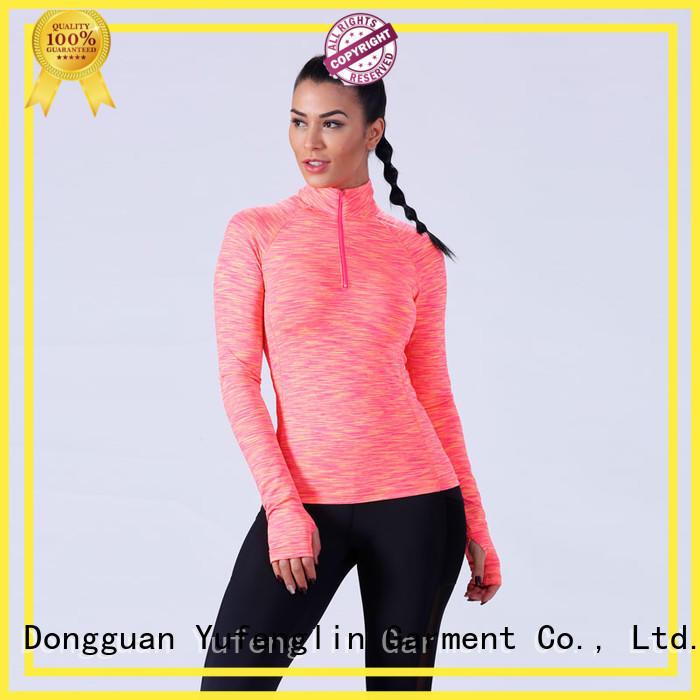 Yufengling women ladies t shirt yoga wear exercise room
