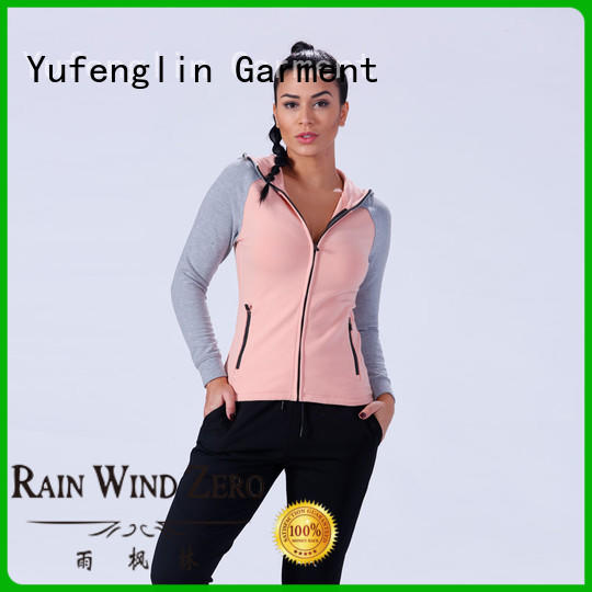 Yufengling comfortable gym hoodies womens workout