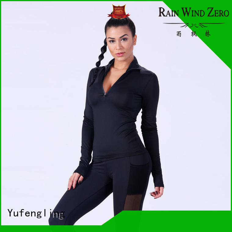 women gym t shirts for ladies yoga wear colorful Yufengling