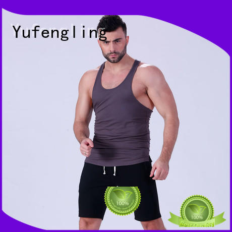 tops mens workout tanks fitness for trainning Yufengling