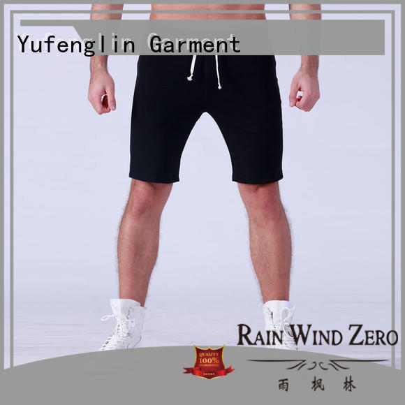 durable gym shorts men cotton supplier