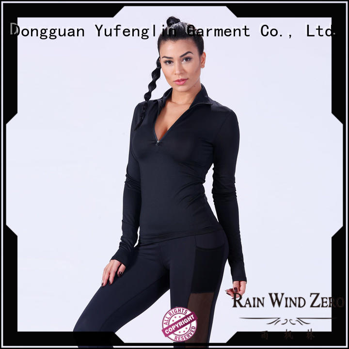 Yufengling fitness-wear t shirts for women wholesale exercise room