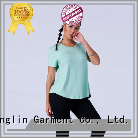 magnificent female t shirt women yoga wear exercise room