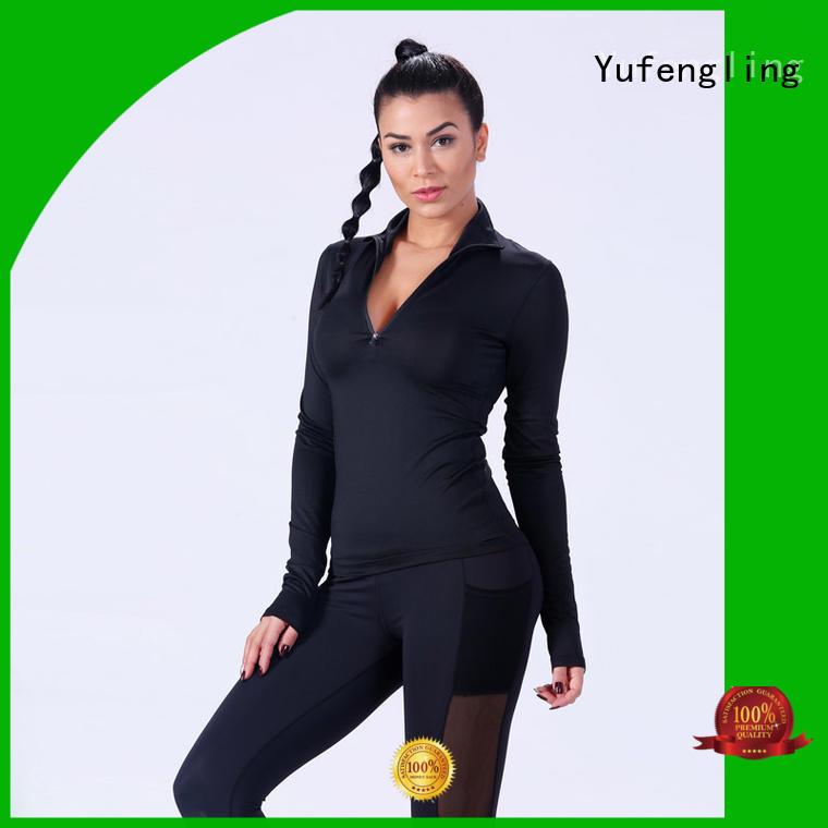 Yufengling fitness-wear women t shirt wholesale