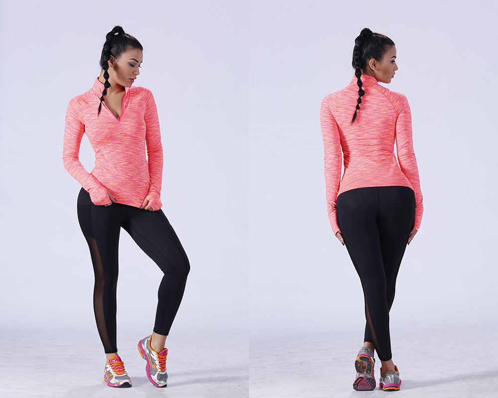lovely gym t shirts for ladies crop for-mens colorful-1