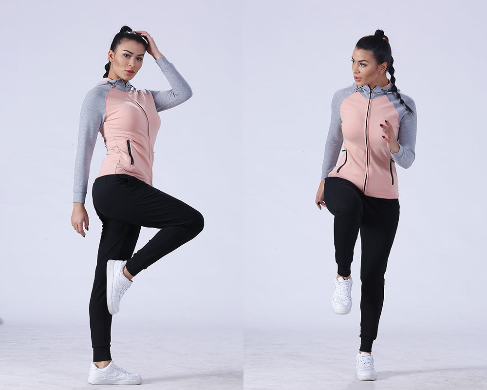 Yufengling gym ladies sweatshirts sports-wear yoga room