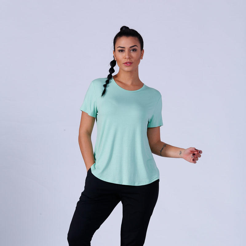 Yufengling casual ladies long shirts wholesale yoga room