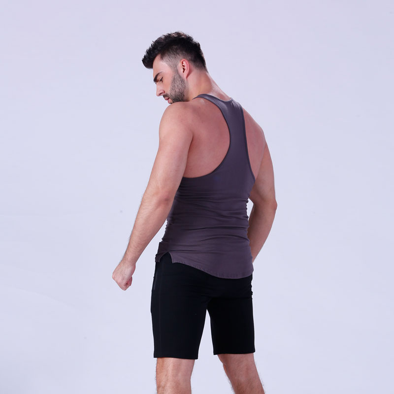magnificent mens tank top tranning-wear in gym-7