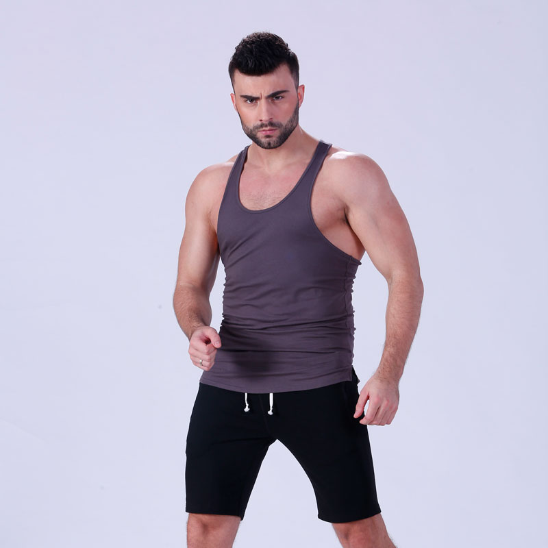 magnificent mens tank top tranning-wear in gym-5