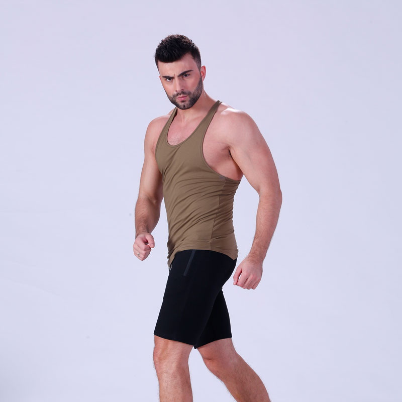 Yufengling fit gym tank tops mens fitting-style for training house-5