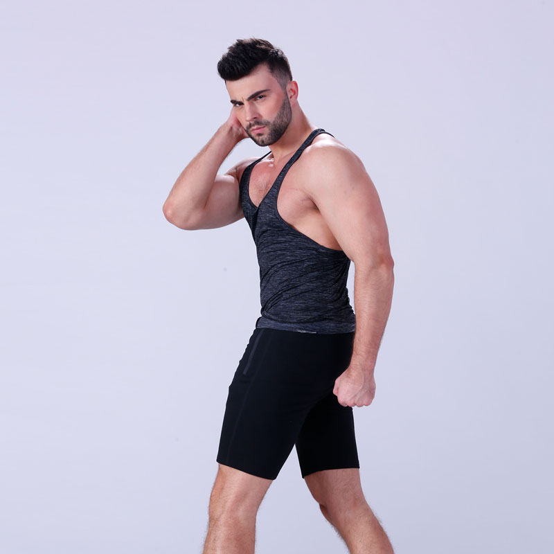 Yufengling tank male tank tops sporting-style for trainning-6