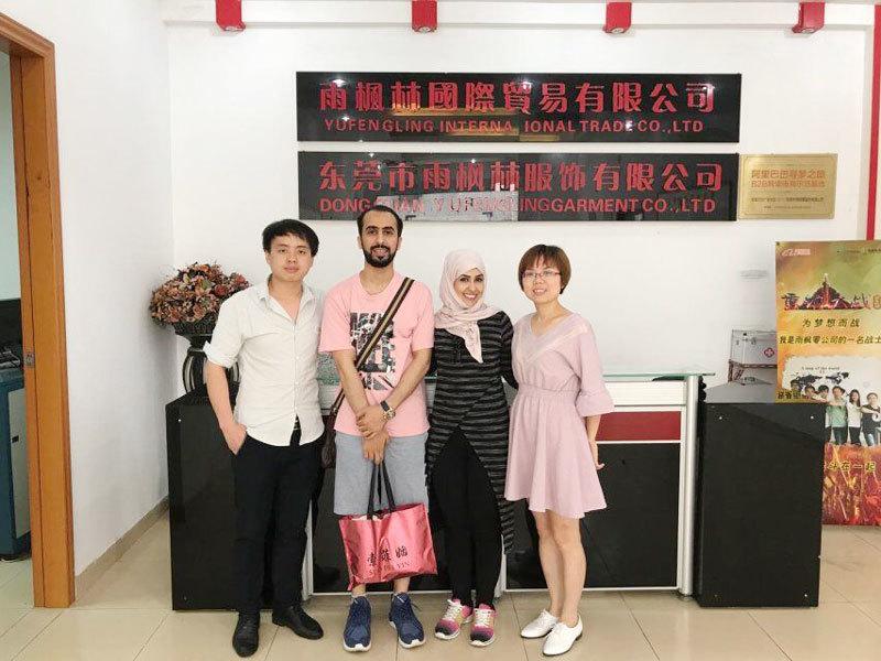 Dubai customer visit factory