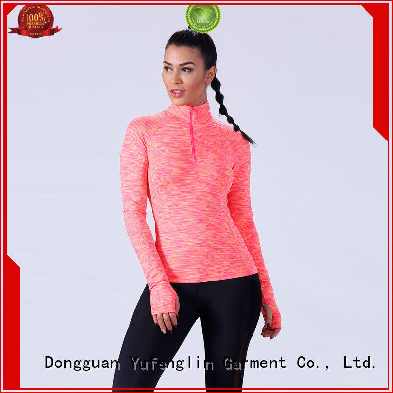 Yufengling comfortable women t shirt casual exercise room