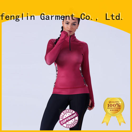 O neck female t shirt color for training house Yufengling