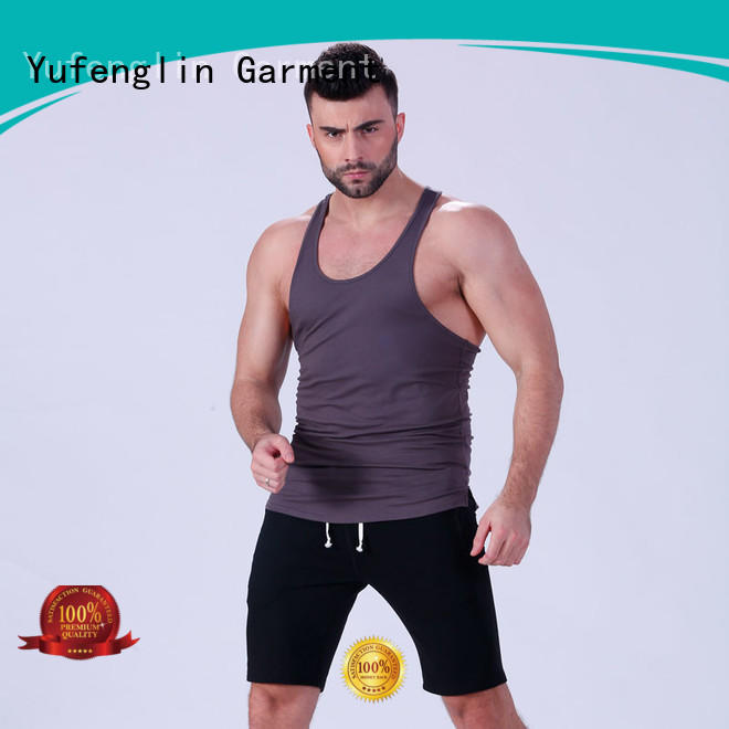 Yufengling solid muscle tank tops fitness fitness centre