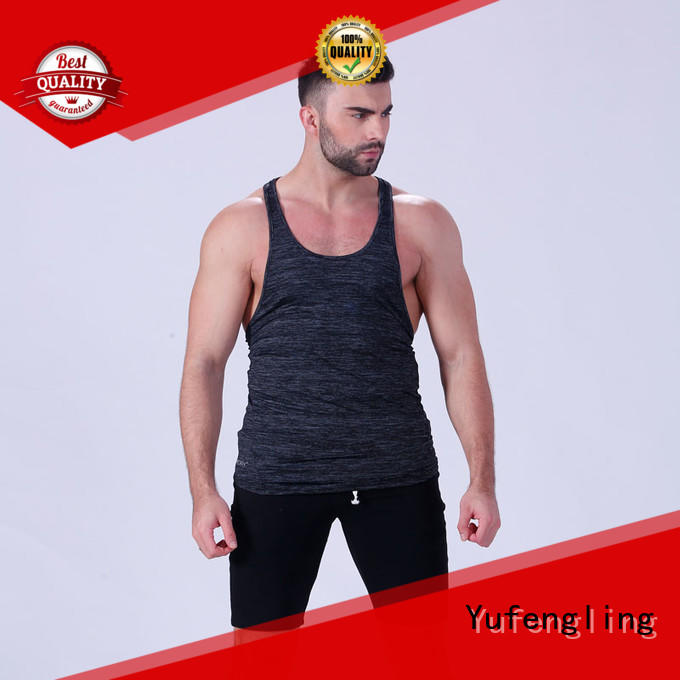 Yufengling fit bodybuilding tank tops sleeveless for trainning