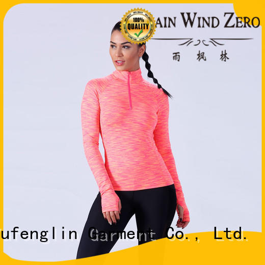 female t shirt O neck colorful Yufengling