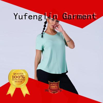 Yufengling O neck best t shirt design yoga wear