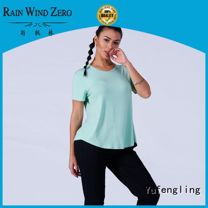 comfortable female t shirt casual fitting-style suitable style