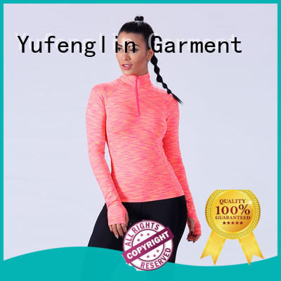 Yufengling fitness-wear gym t shirts for ladies casual-style for training house