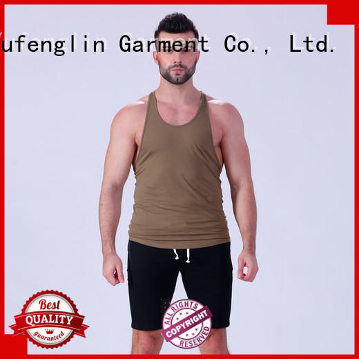 Yufengling fit gym tank tops mens fitting-style for training house