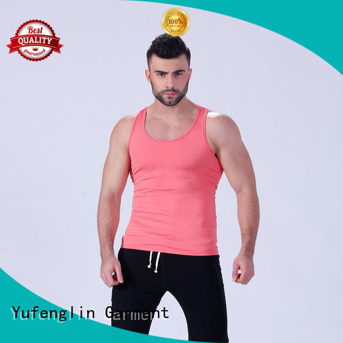awesome men singlet sports-wear for training house Yufengling