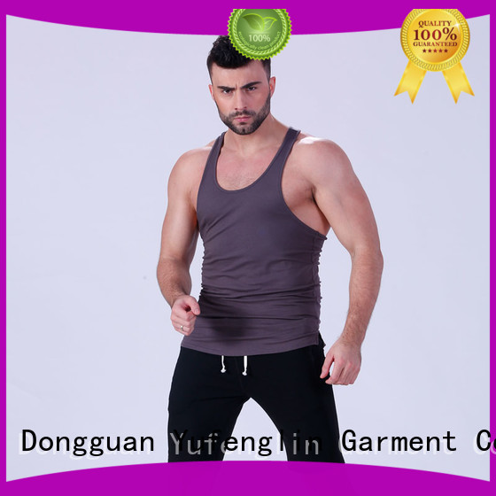 Wholesale muscle mens tank tops Yufengling Brand