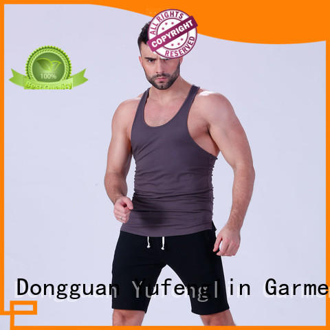 Yufengling muscle mens workout tanks wholesale for sports