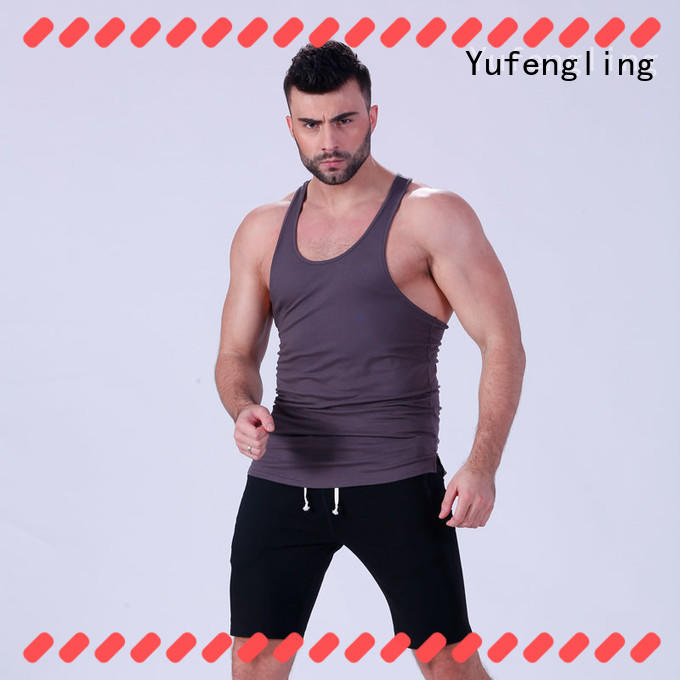 Yufengling loose male tank tops sleeveless fitness centre