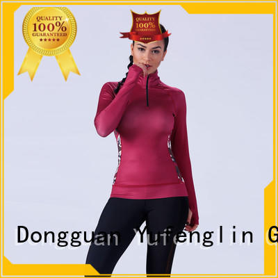 women ladies long shirts in different color yoga room Yufengling