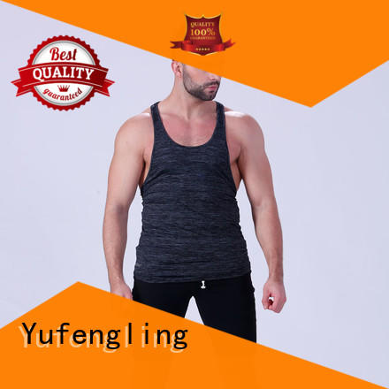 Yufengling tops muscle tank tops fitness in gym
