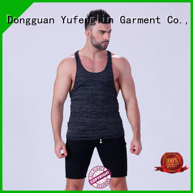 Yufengling hot-sale mens muscle tank casual-style for sports