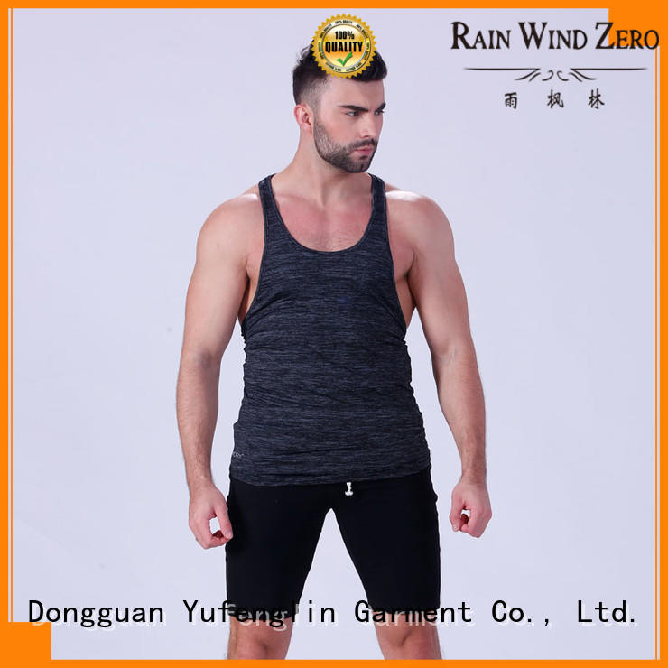exquisite men singlet casual-style exercise room