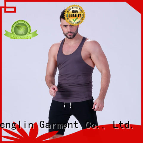 Yufengling stunning male tank tops fitness fitness centre