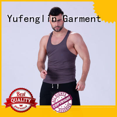 Yufengling hot-sale gym tank tops mens fitness for trainning