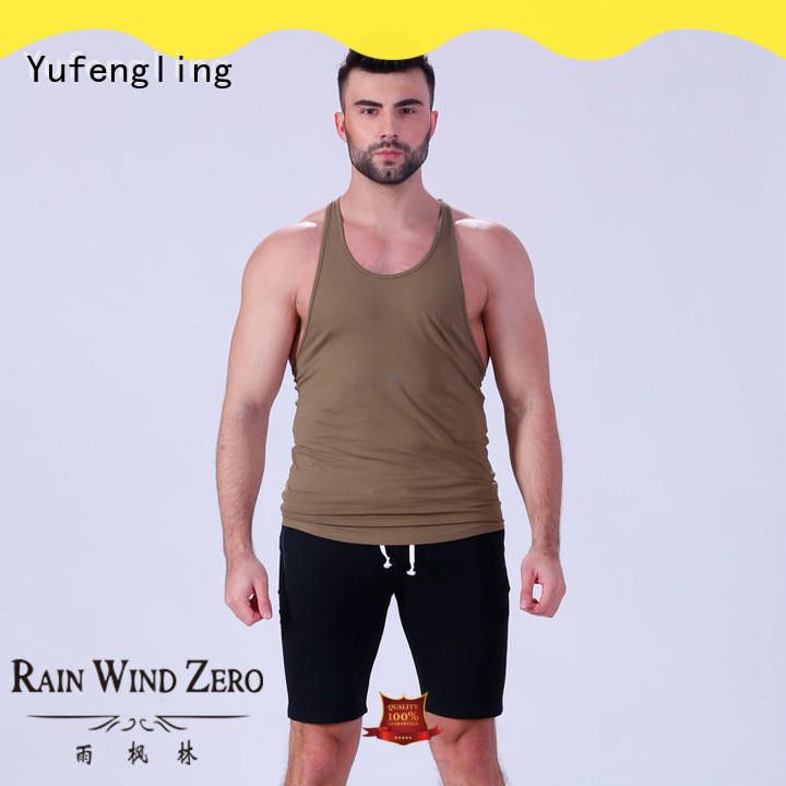 Yufengling magnificent custom tank tops wholesale gymnasium
