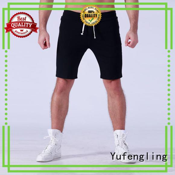 Yufengling newly mens athletic shorts blank yoga room