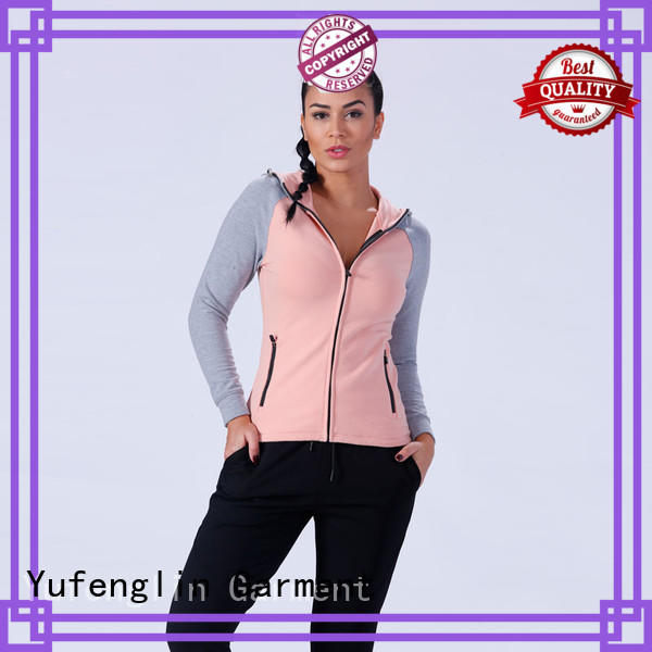 Yufengling crop womens hoodies and sweatshirts wholesale for training house