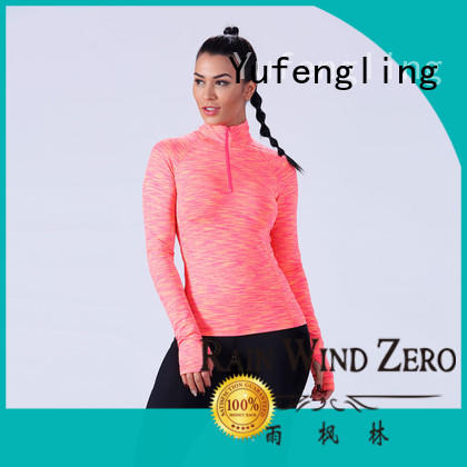 comfortable ladies t shirt sports yoga wear suitable style