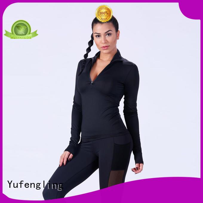 fitness-wear women's t shirts o-neck yoga room Yufengling