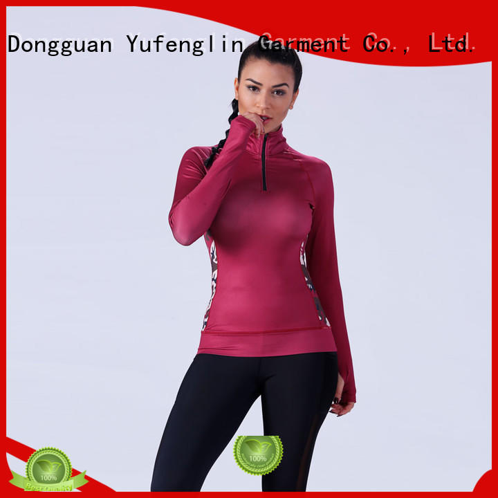 Yufengling  alluring female t shirt o-neck for training house