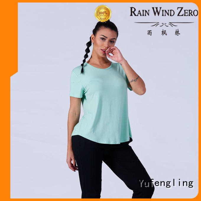 Yufengling comfortable female t shirt manufacturer colorful