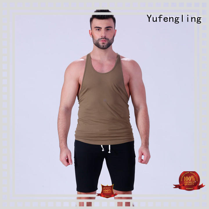 stringer cool tank tops mens tops in gym Yufengling