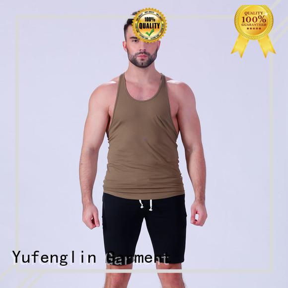 gym mens workout tanks tranning-wear yoga room Yufengling