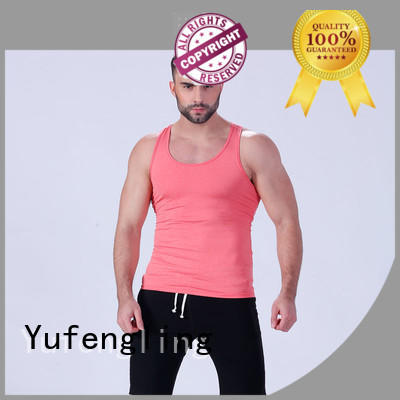 Yufengling tank gym tank tops mens tranning-wear for training house