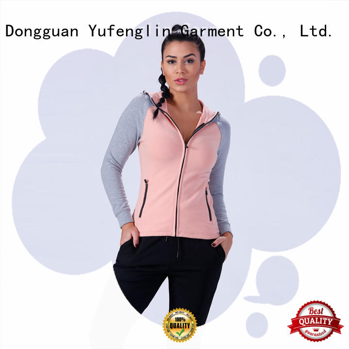 clothing ladies hoodies top gym Yufengling company