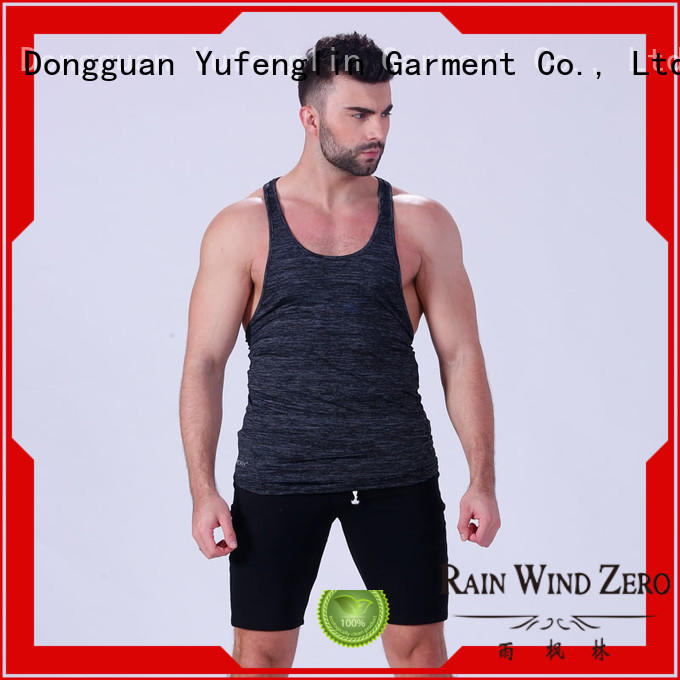 Yufengling muscle mens tank tops in gym