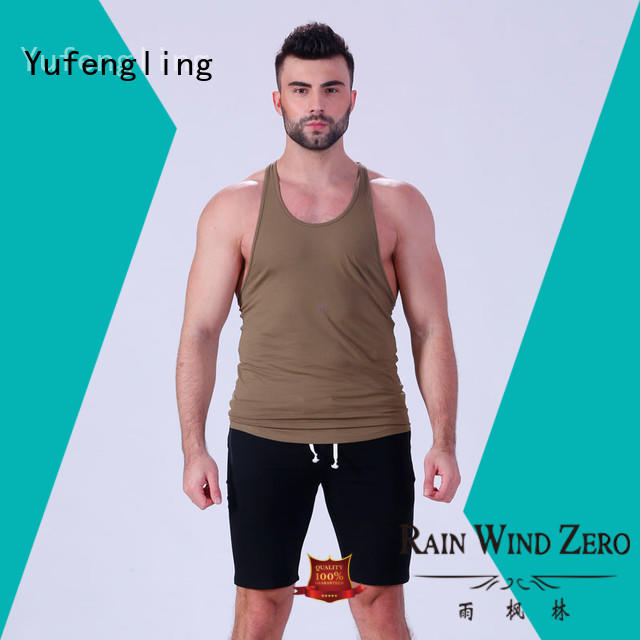 Yufengling new-arrival gym tank top fitness centre