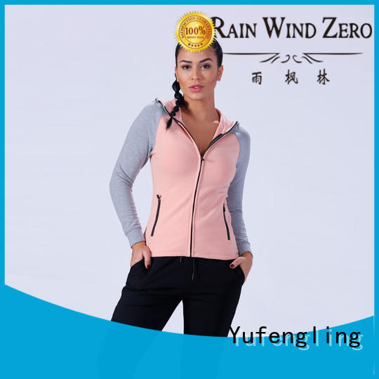 slim fit ladies sweatshirts zip-up casual-style for trainning