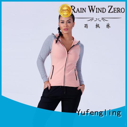 slim fit ladies sweatshirts zip-up casual-style for trainning